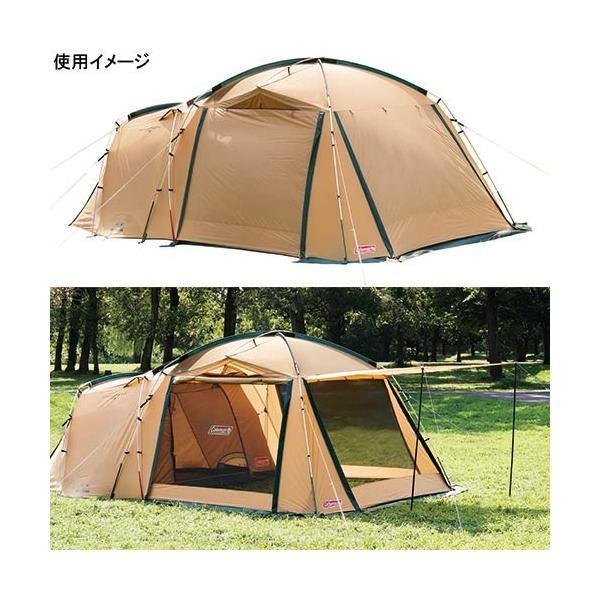 コールマン(Coleman) キャンプ タフスクリーン2ルームハウス テント 2000031571 ツールームテント 2ルームテント アウトドア 定番商品 大型|esports|02