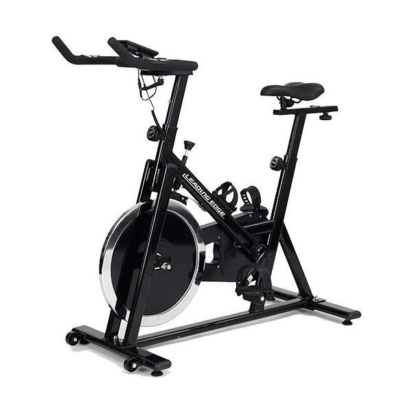 リーディングエッジ(LEADINGEDGE) スピンバイクAe ブラック + EVAジョイントマット グレー BK-SPN13BK フィットネス エアロバイク ダイエット トレーニング|esports|02