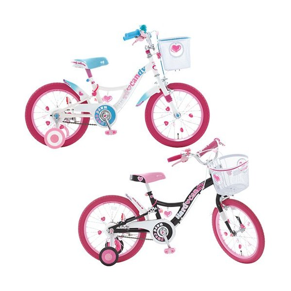 18インチ 子供用自転車 ハードキャンディ 補助輪付 幼児自転車 18hardcady 女の子 可愛い キッズ サイクル プレゼント|esports|02