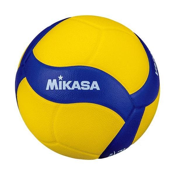 ミカサ(MIKASA) バレーボール 練習球 5号 黄/青 V320W バレー 5号球