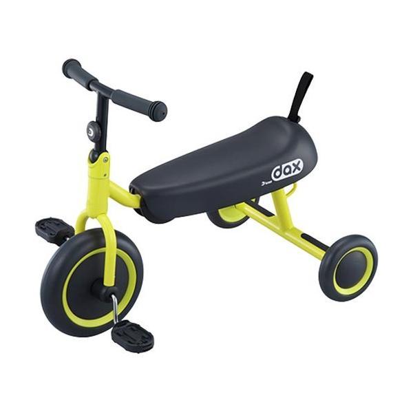 アイデス(ides) 三輪車 D-BIKE dax イエロー 6-031094 キッズ ジュニア 折りたたみ可能 コンパクト プレゼント 乗用玩具 乗り物 子供 ベビー トライク 黄色