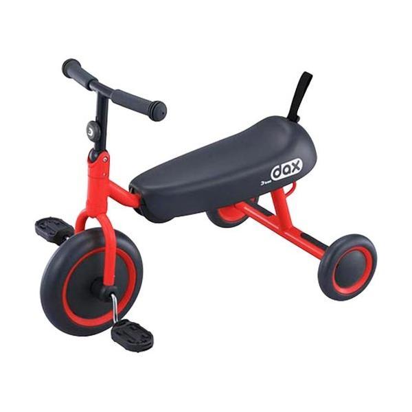 アイデス(ides) 三輪車 D-BIKE dax レッド 6-031100 キッズ ジュニア 折りたたみ可能 コンパクト プレゼント 乗用玩具 乗り物 子供 ベビー トライク 赤色