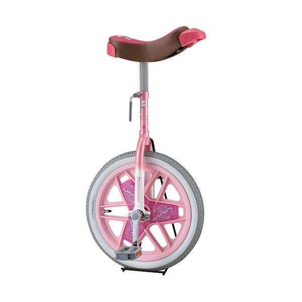 三和体育(SANWATAIKU) カラー一輪車 14インチ (ピンク) S-9103 学校体育