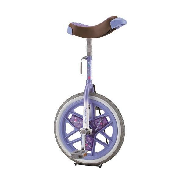 三和体育(SANWATAIKU) カラー一輪車 16インチ (ラベンダー) S-9108 学校体育