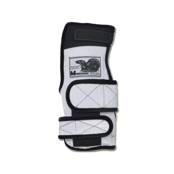 アメリカン ボウリング サービス(ABS) マングース ホワイト W ボウリンググローブ リスタイ サポーター ボーリング