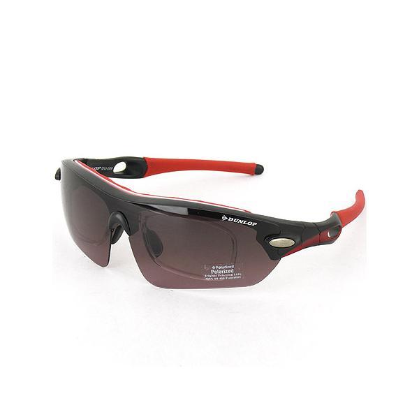 ダンロップ(DUNLOP) 無料 度付きレンズ付き インナーフレーム (サングラス 交換 レンズ 計5枚付) DU-006 フレームカラー:MD.BK/Col.1 スポーツ ゴルフ|esports