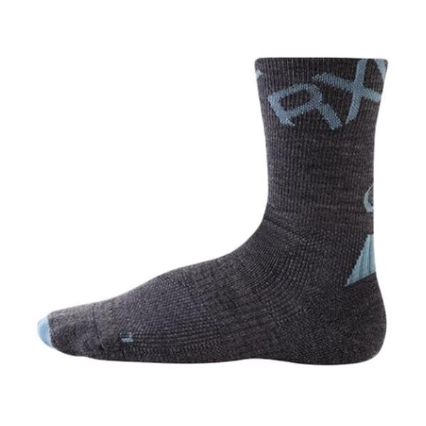 fdd11a8a880d7 アールエルソックス(R×L) メリノラウンド 厚地 チャコール TMW-36 靴下