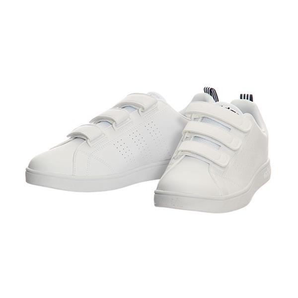 アディダス(adidas) ネオ(NEO) バルクリーン2 VALCLEAN2 CMF ベルクロ ホワイト/カレッジネイビー AW5211 アディダスネオ スニーカー メンズ レディース esports