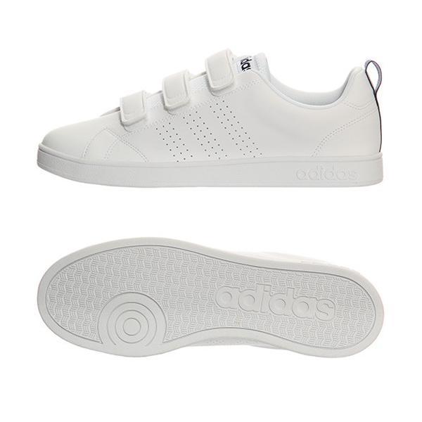 アディダス(adidas) ネオ(NEO) バルクリーン2 VALCLEAN2 CMF ベルクロ ホワイト/カレッジネイビー AW5211 アディダスネオ スニーカー メンズ レディース esports 02