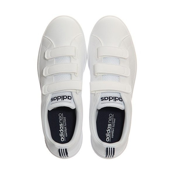 アディダス(adidas) ネオ(NEO) バルクリーン2 VALCLEAN2 CMF ベルクロ ホワイト/カレッジネイビー AW5211 アディダスネオ スニーカー メンズ レディース esports 04