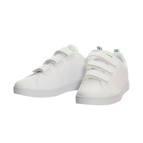 アディダス(adidas) ネオ(NEO) バルクリーン2 VALCLEAN2 CMF ベルクロ ホワイト/グリーン AW5210 アディダスネオ スニーカー メンズ レディース|esports