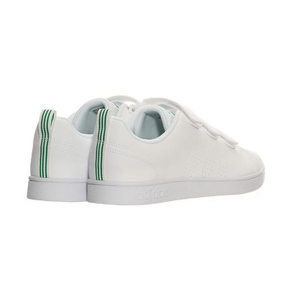 アディダス(adidas) ネオ(NEO) バルクリーン2 VALCLEAN2 CMF ベルクロ ホワイト/グリーン AW5210 アディダスネオ スニーカー メンズ レディース|esports|03