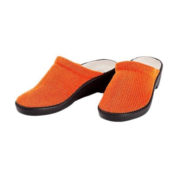 アルコペディコ(ARCOPEDICO) レディース サンダル クラシックライン LIGHT ライト オレンジ 5061010 靴 サボサンダル ニット シューズ