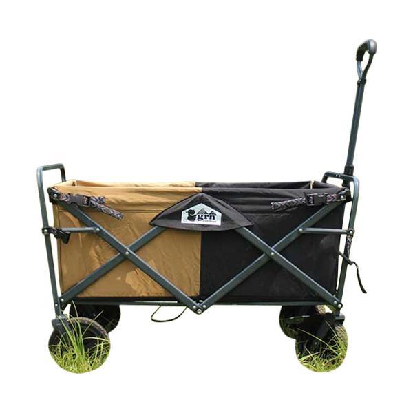 ジーアールエヌ アウトドア(grn outdoor) 60/40 Cloth オールランド キャリーワゴン All-Land Carry Wagon ブラック GO0401F アウトドアワゴン キャリーカート