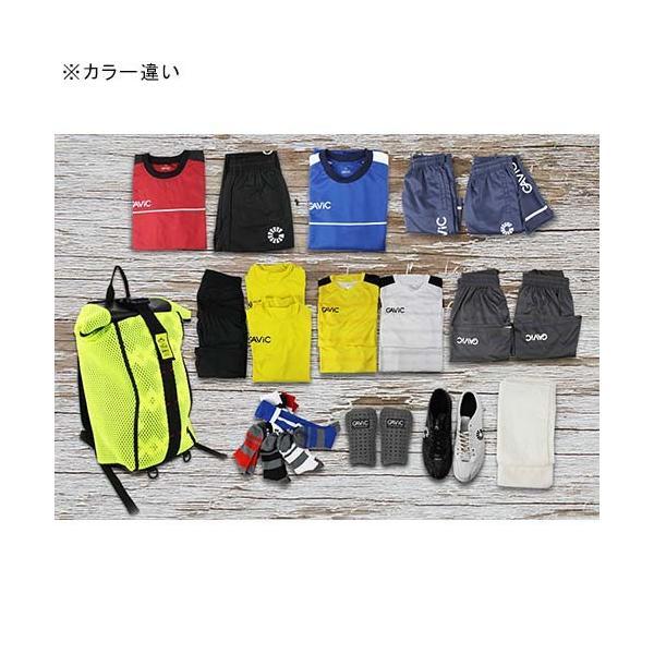 ガビック(GAVIC) サッカー フットサル バックパック メッシュロールトップ BLK GG0224 リュックサック バッグ 鞄 部活 esports 02