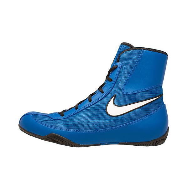 ナイキ(NIKE) メンズ レディース ボクシングシューズ MACHOMAI2 ブルー/ホワイト 321819 410 レスリング ボクシング シューズ 靴