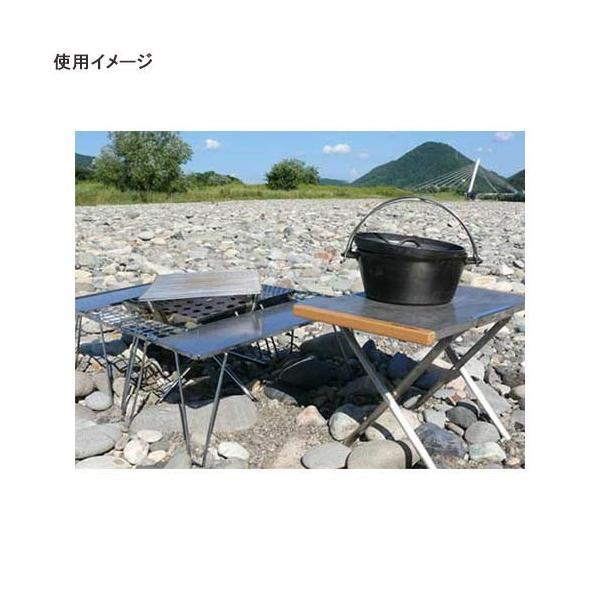 ユニフレーム UNIFLAME キャンプ テーブル 焚き火テーブル ステンレス 682104 アウトドア バーベキュー ダッチオーブン おしゃれ esports 02