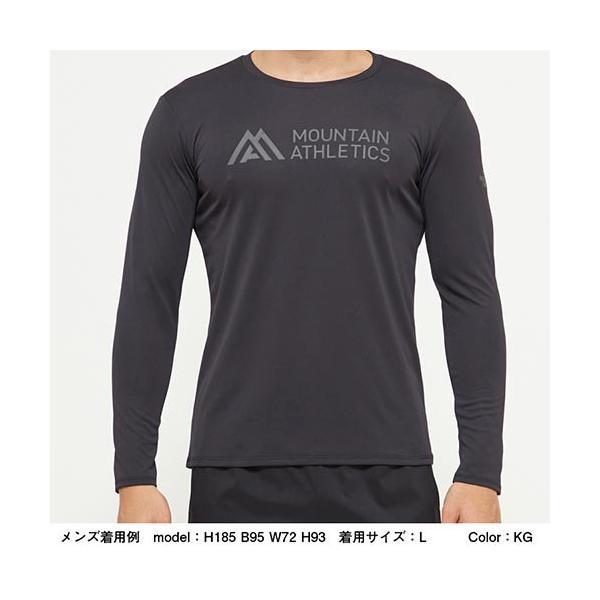 ノースフェイス(THE NORTH FACE) メンズ Tシャツ ロングスリーブアンペアMAクルー L/S Ampere MA Crew ホワイト NT61985 W トップス 長袖 トレーニングウェア|esports|02