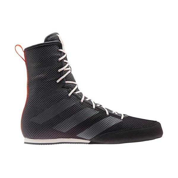 アディダス(adidas) メンズ レディース ボクシング リングシューズ ボックスホッグ BOX HOG 3 コアブラック/グレーシックス/ソーラーレッド DQU54 FV6586 靴