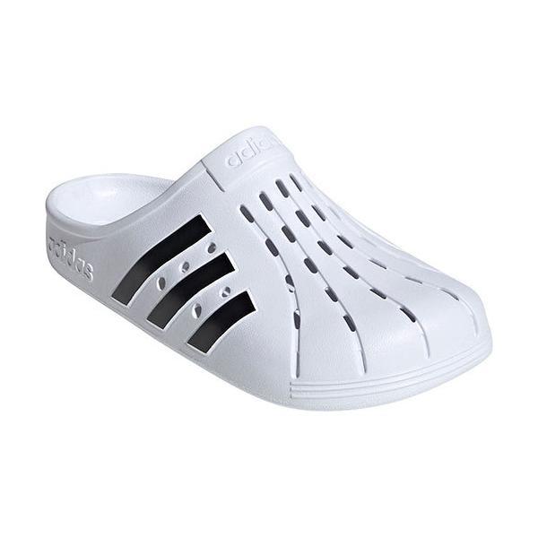 アディダス(adidas) メンズ レディース サンダル アディレッタ クロッグ フットウェアホワイト/コアブラック LEQ20 FY8970 サボサンダル スリッポン
