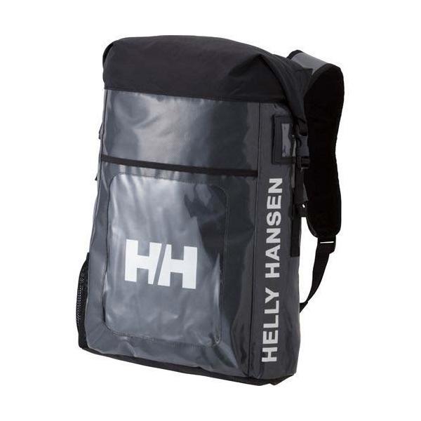 c25547f5d07ecc ヘリーハンセン(HELLY HANSEN) MAP BAG マップバッグ KZ/ブラックグレー HY91726 バックパック ザック デイバッグ  リュック 通勤通学