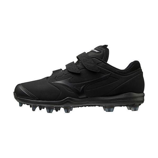 ミズノ(MIZUNO) メンズ 野球 スパイク ミズノドミナント3TPU BLT DOMINANT3 TPU BLT ブラック×ブラック 11GP2023 00 野球 シューズ 靴