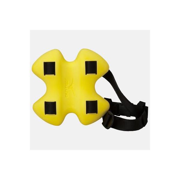 ミズノ(MIZUNO)エクサーフラットブイ イエロー 85ZB05045 スイムアクセサリー/水泳用トレーニング用品/へルパー|esports