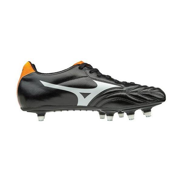 ミズノ(MIZUNO) メンズ ラグビー シューズ ワイタンギ WAITANGI CL ブラック×ホワイト R1GA180101 ラグビーフットウェア 靴|esports|02