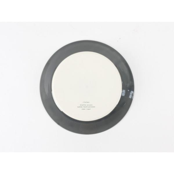 プレート 木村硝子店 × イイホシユミコ Dishes 180plate ( fog gray ) yumiko iihoshi  21549|esprit|05