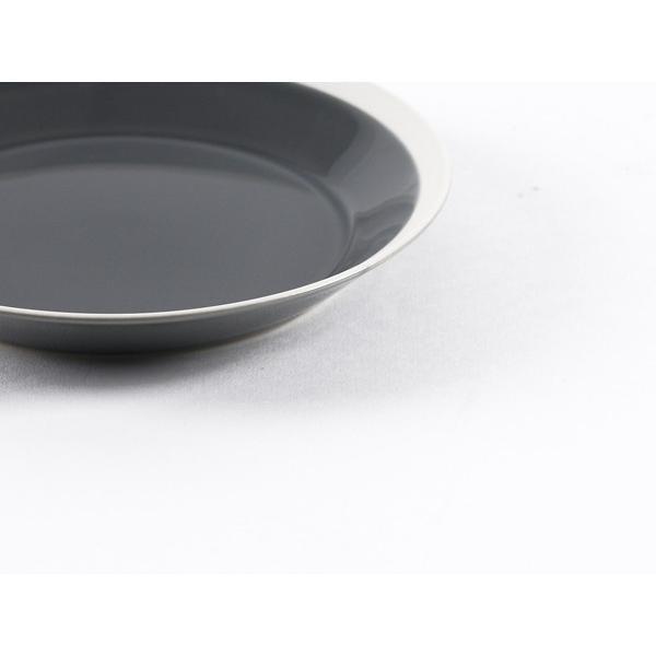 プレート 木村硝子店 × イイホシユミコ Dishes 180plate ( fog gray ) yumiko iihoshi  21549|esprit|06
