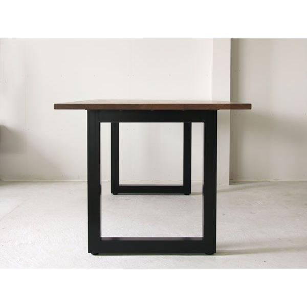 マスターウォール ワイルドウッド ダイニングテーブル W1600  ウォールナット スチールレッグス WWDT16065SL-WN Masterwal|esprit|03