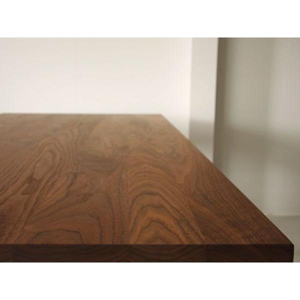 マスターウォール ワイルドウッド ダイニングテーブル W1600  ウォールナット スチールレッグス WWDT16065SL-WN Masterwal|esprit|05