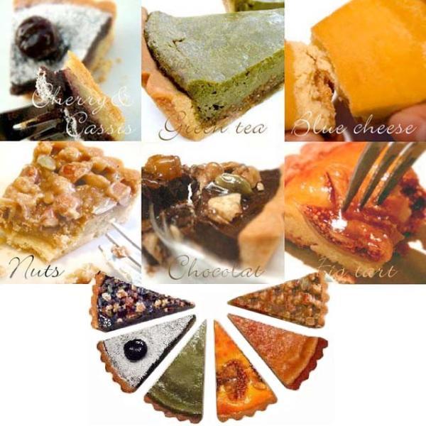 送料無料 お試しベイクドタルト6個セット お中元 ケーキ スイーツ 人気|チーズケーキ いちじく ショコラ ナッツ チェリー チョコ