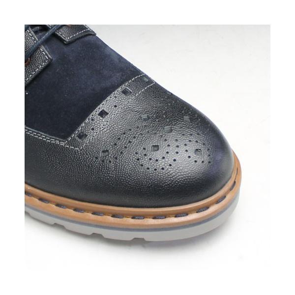 クラークス/Dargo Limit(ダーゴリミット)/411E (ネイビー)/26110286/メンズ 靴|essendo|04