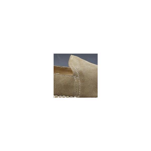 リーガル/カジュアル スリッポン/56DR ベージュスエード/牛革エスパドリーユ/メンズ 靴|essendo|04
