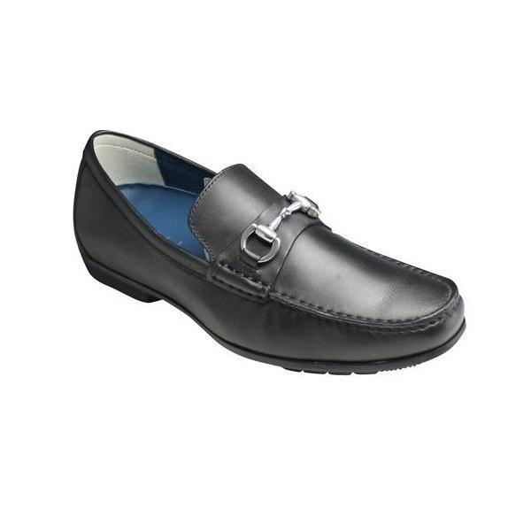 リーガル/ビジカジシューズ スリッポン(ドライビング)/57HR/ ブラック/ビット/メンズ 靴|essendo