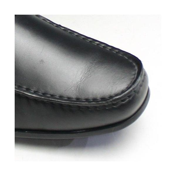 リーガル/ビジカジシューズ スリッポン(ドライビング)/57HR/ ブラック/ビット/メンズ 靴|essendo|04