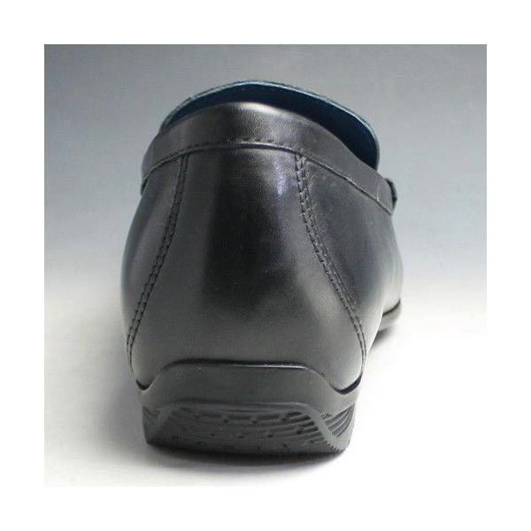 リーガル/ビジカジシューズ スリッポン(ドライビング)/57HR/ ブラック/ビット/メンズ 靴|essendo|05