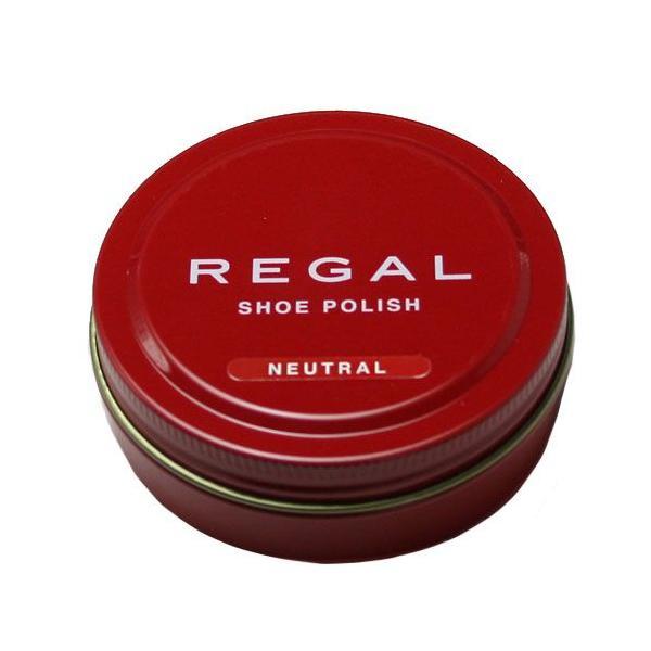 【REGAL(リーガル)】シューポリッシュ油性靴クリーム50g(無色)・TY16/メンズ 靴