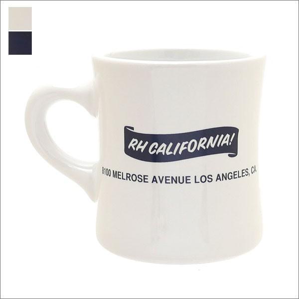 Ron Herman(ロンハーマン)  RH logo Mug(8100 MELROSE) (マグカップ)  290-004284-004x【新品】(グッズ)