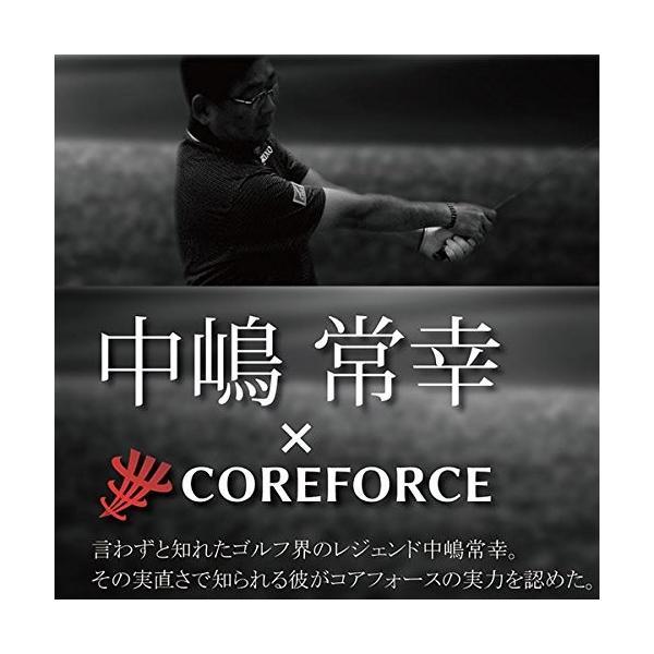 コアフォース COREFORCE コアフォースループ ブラック ヘマタイト 70cm BK_70|essentialstore