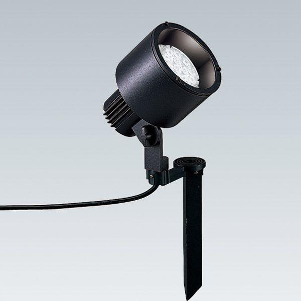 スポットライト LED照明 屋外 看板 照明 4002H ダークグレー 演出 照明 ガーデンライト 外灯 照明器具 おしゃれ LEDZランプディスク100(別売) 8.6/8.9W|estoah
