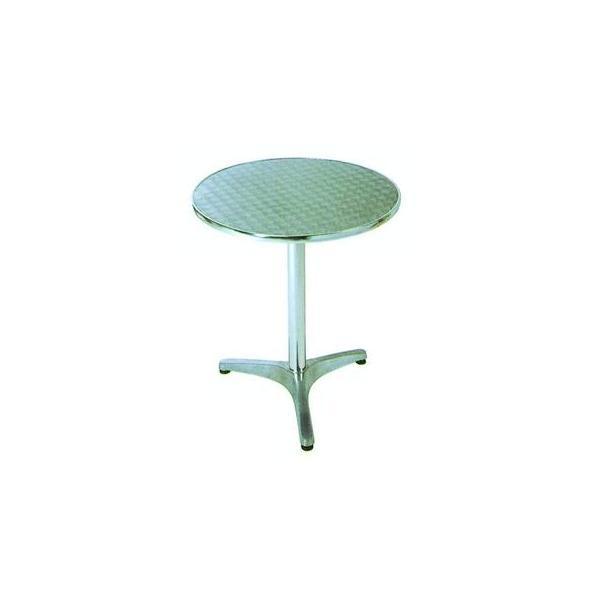 ガーデンテーブル カフェテーブル アルミテーブル丸YTS1-60 ガーデニングテーブル ベランダ ガーデンファニチャー