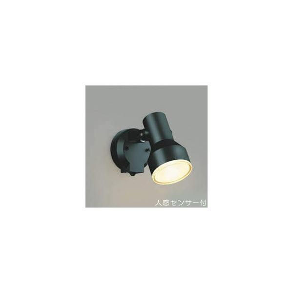屋外 照明 スポットライト LED 人感センサー付 タイマー付 ON-OFFタイプ ビーム球150W相当 広角 防雨型 黒色 照明器具