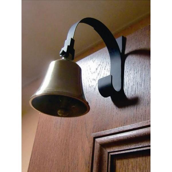 ドアベル ドアチャイム ドアベル ブラケット 真鍮 装飾雑貨 取付け簡単|estoah|02
