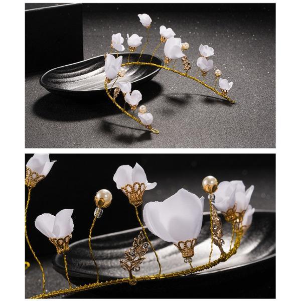 子供用 フラワーティアラ 髪飾り 花冠 子供ドレス フォーマル  キッズ ジュニア 発表会 結婚式 七五三 フラワーガール ヘッドドレス