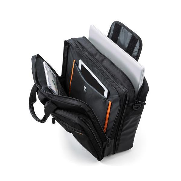 訳あり新品 ビジネスバッグ 3WAY リュック 手提げ ショルダー 出張 大容量 PC タブレット 外装にキズ、汚れあり EES-BAG-3WAY22BK サンワサプライ ネコポス非対
