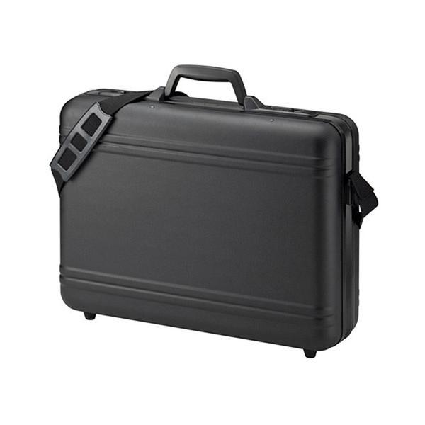 訳あり 新品 ハードPCケース(17インチワイドまで対応・鍵付き・ブラック) BAG-715N2 サンワサプライ※箱にキズ、汚れあり ネコポス非対応