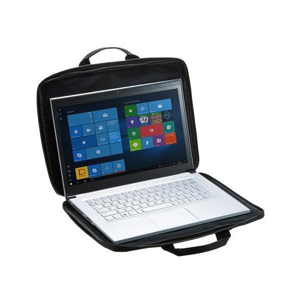 訳あり新品 インナーバッグ 持ち手 パソコン 13.3インチワイド 箱にキズ、汚れあり IN-GH13BK サンワサプライ ネコポス非対応
