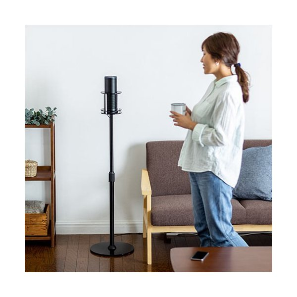 Amazon Echo フロアスタンド Amazon Echo Plus スタンド 高さ調節可 オフィス リビング EZ1-ALST002 ネコポス非対応